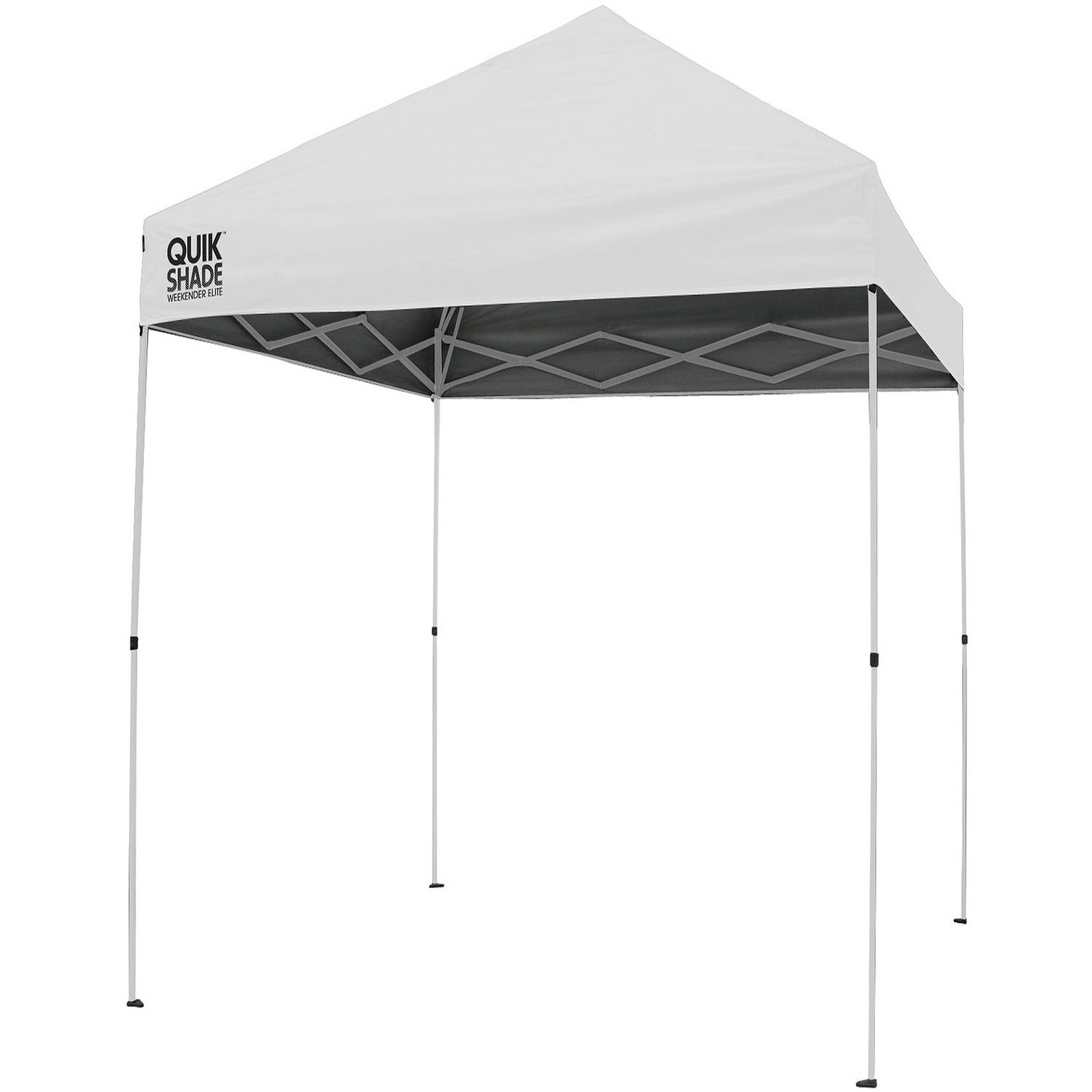 Quik-Shade Excursion WE100NL 10' x 10' Instant Canopy, White by Bravo Sports