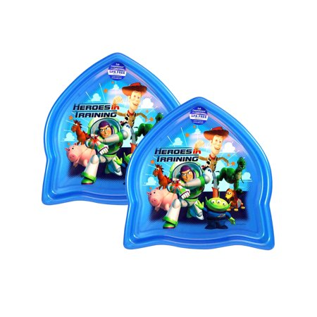 Toy Story Heroes Rocket Shape Plate BPA-Free by Zak!
