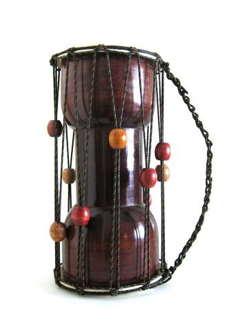 "Djembe Drum Talking Drum Musical Percussion -15"" Professional Quality- JIVE BRAND by"