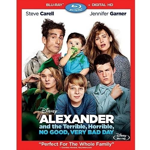 Alexander And The Terrible, Horrible, No Good, Very Bad Day (Blu-ray + Digital HD) DISBR124741