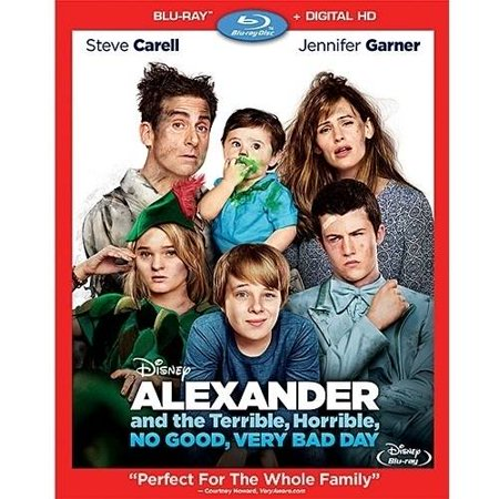 Alexander And The Terrible  Horrible  No Good  Very Bad Day  Blu Ray   Digital Hd