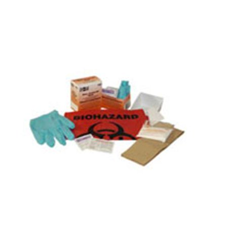 - WP000-PT 21-760 21-760 Spill Kit Body Fluid Clean Up Biohazard First Aid Ea Pacc-Kit Safety Equipment