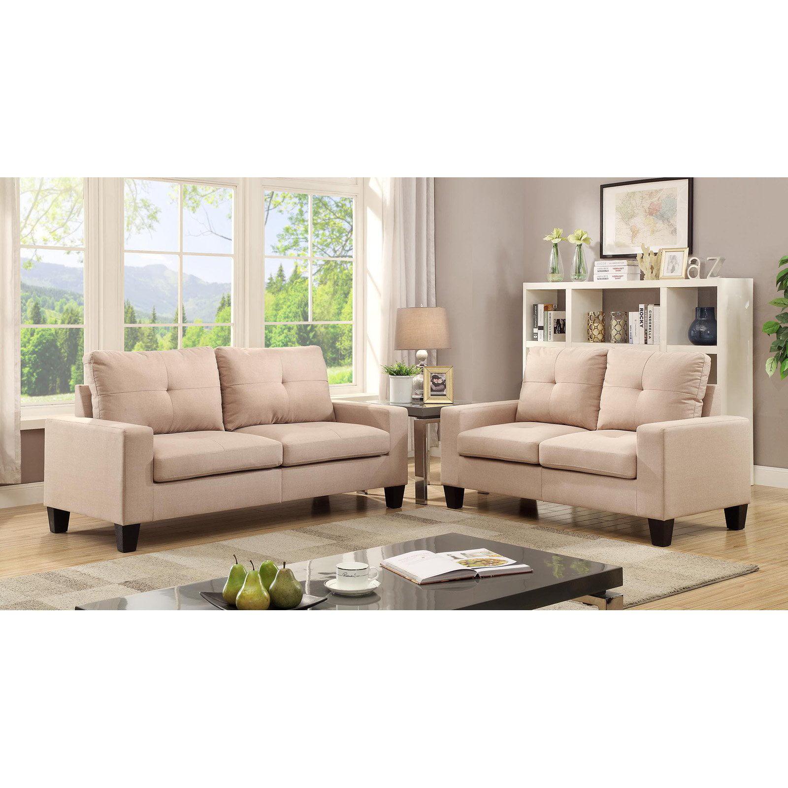 Acme Furniture Platinum II Linen Sofa