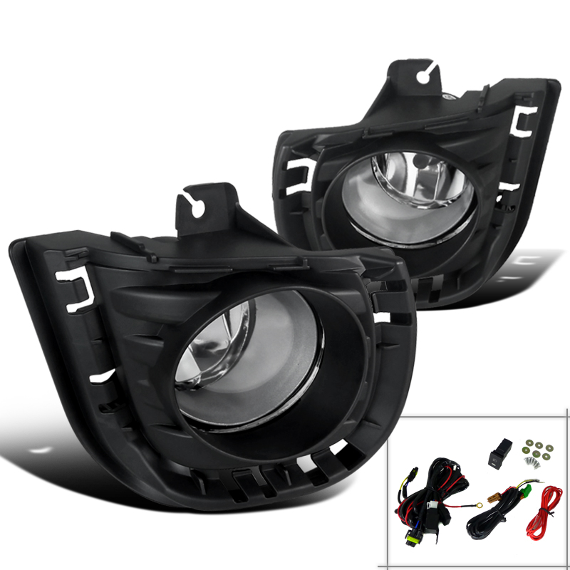 2014-2015 Scion Tc Jdm Style Fog Lights Bumper Lamps+Switch Kit Clear 14 15