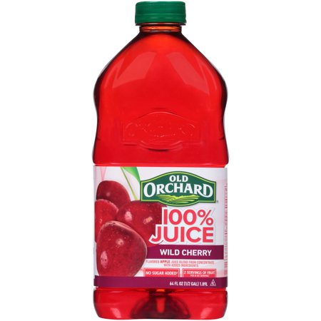 Old Orchard 100  Fruit Juice  Wild Cherry  64 Fl Oz  1 Count