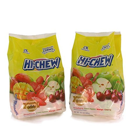 Hi-Chew Strawberry Green Apple Mango Cherry 14.1 oz - 2 Bags