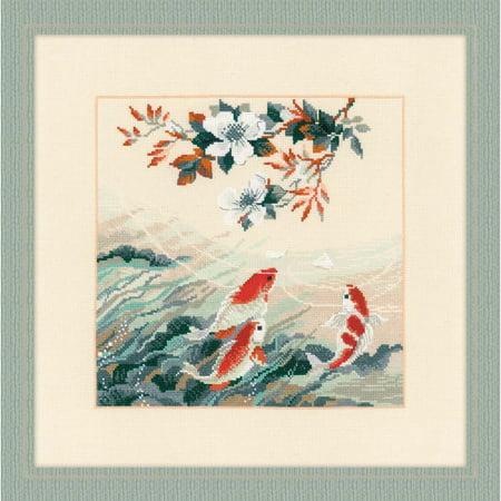 RIOLIS® Dancing Fish Counted Cross-Stitch Kit