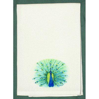 Peacock Guest Towel