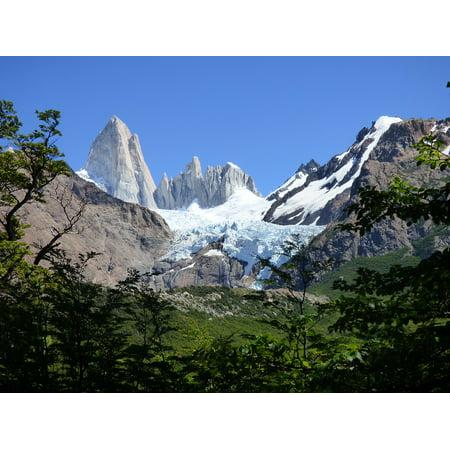 LAMINATED POSTER Chalt??n Argentina Patagonia Fitz Roy Mountain Poster Print 11 x