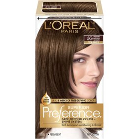 L Oreal Paris Superior Preference Fade Defying Color Shine Hair 5g Medium Golde