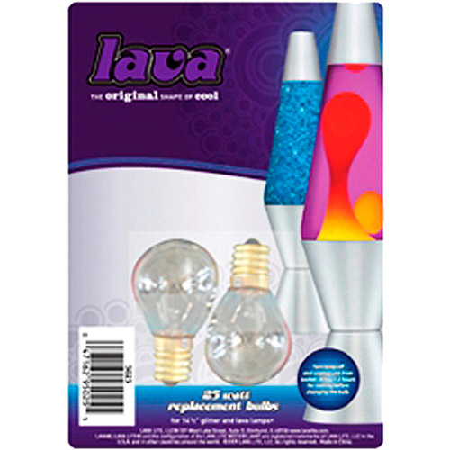 Superior Lava 25W Light Bulbs, 2pk