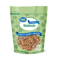 Great Value Chopped Walnuts, 8 oz