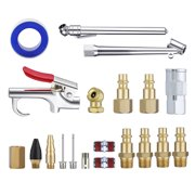 "20Pcs Air Tool Accessory Kit Air Hose Fittings 1/4"" NPT Air Compressor Connect Coupler"