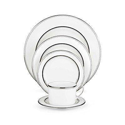 kate spade new york library lane platinum dinnerware 5 piece place
