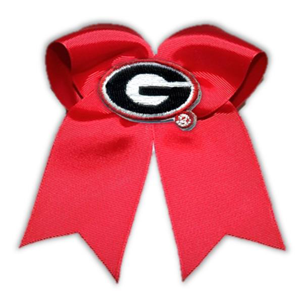 Georgia Bulldogs NCAA Large Cheer Bow