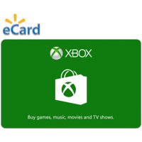 Xbox $20 Gift Card, Microsoft, [Digital Download]