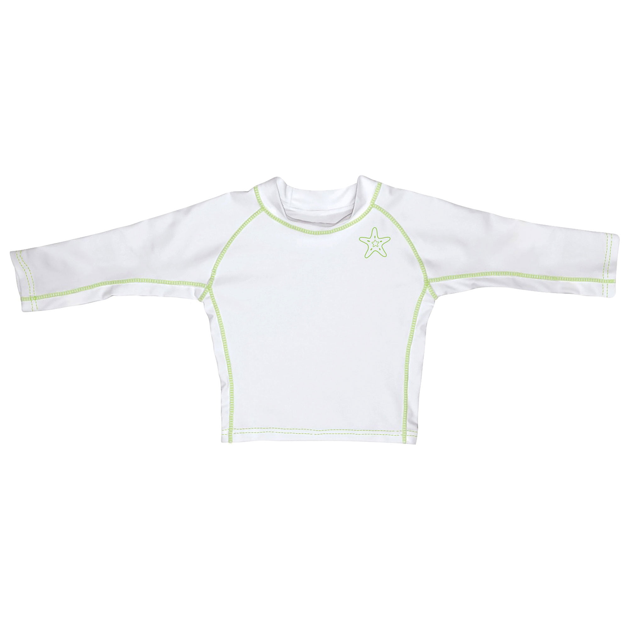 i play by green sprouts Baby-Girls Long Sleeve Rashguard All-Day UPF 50 Sun Protection/—Wet Or Dry Rash Guard Shirt