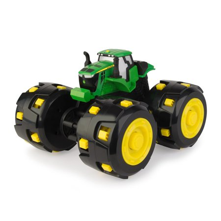 John Deere Toy Tractor, Monster Treads Tough Spike Treads Tractor