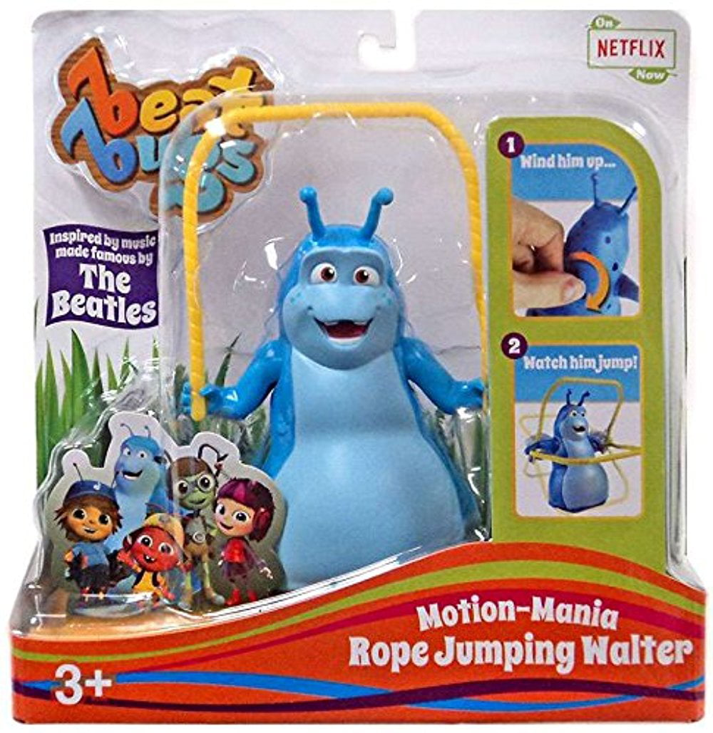 Beat Bugs Motion-Mania Rope Jumping Walter Action Figure by Blip Toys, LLC.