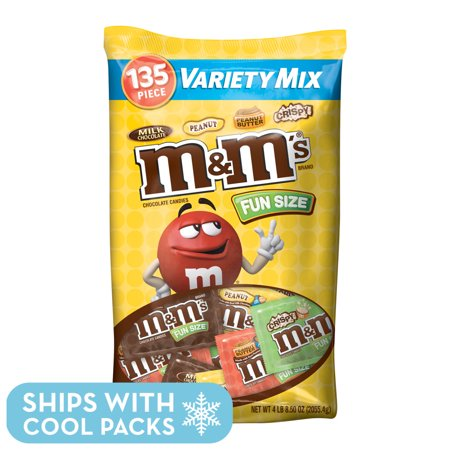 M&M's Chocolate Candy Halloween Fun Size Variety Bag, 72.5 Oz, 135 Ct](Halloween Candy Cup)