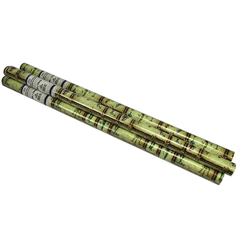 Green Antique Lure Gift Wrap