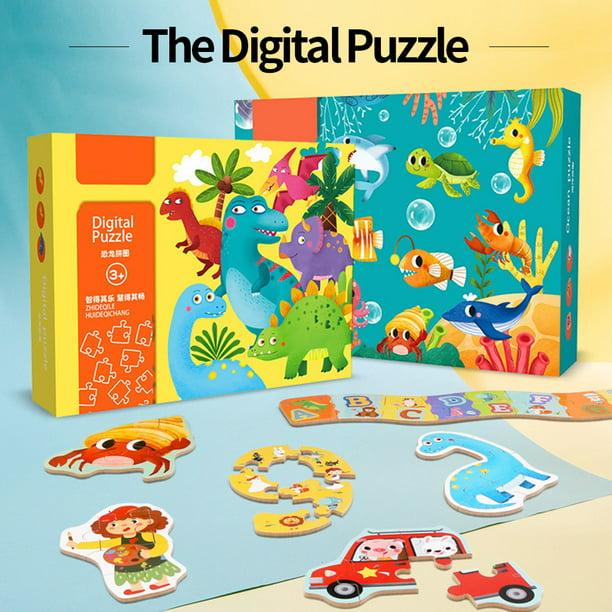 Jigsaw Puzzle Animal Dinosaur Jigsaw Children Recognition Education Toys