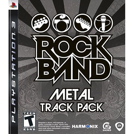 Rock Band Metal Track Pack (PS3) ()