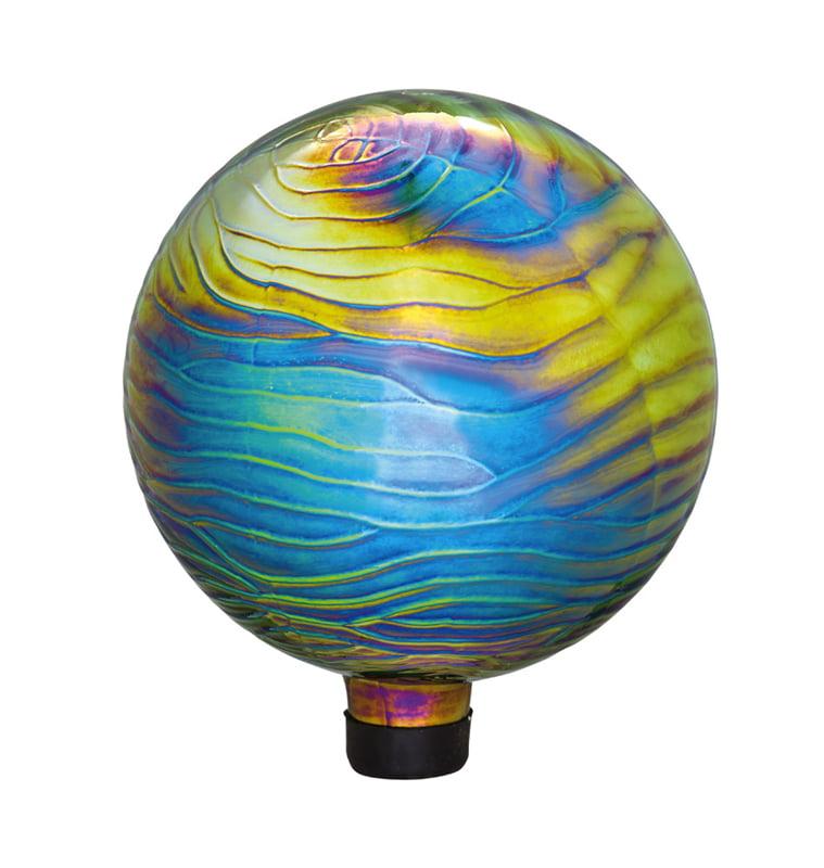 Evergreen Flag & Garden Shimmer Gazing Globe