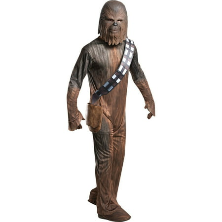 Star Wars Classic Mens Chewbacca Halloween Costume (Chewbacca Costume Rental)