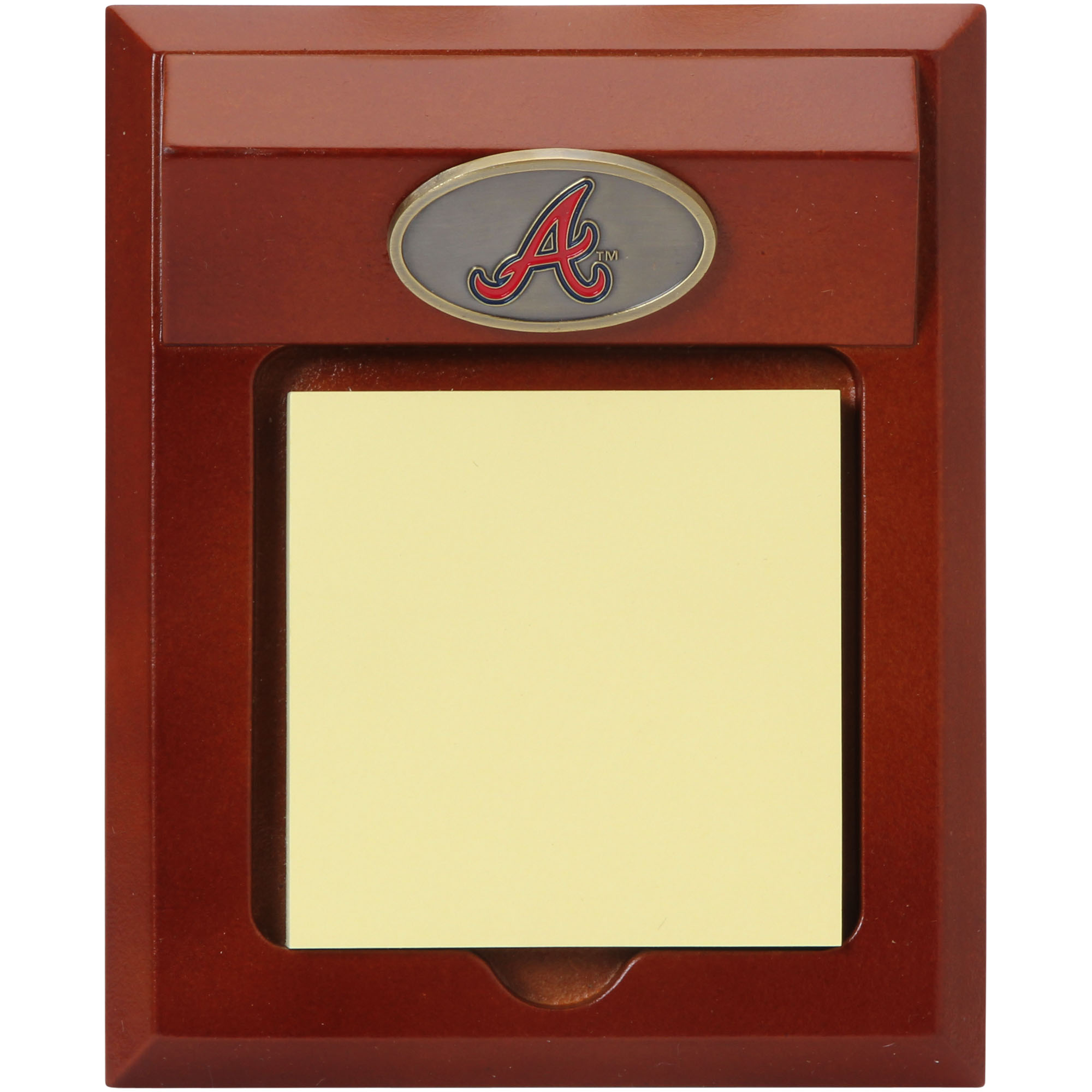 Atlanta Braves Memo Pad Holder No Size by THE MEMORY COMPANY LLC