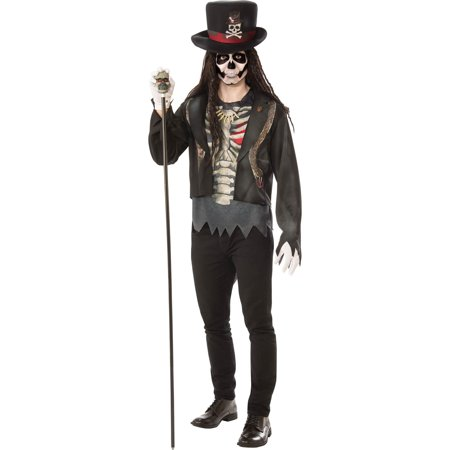 Mens Voodoo Man Halloween Costume - Voodoo Costume