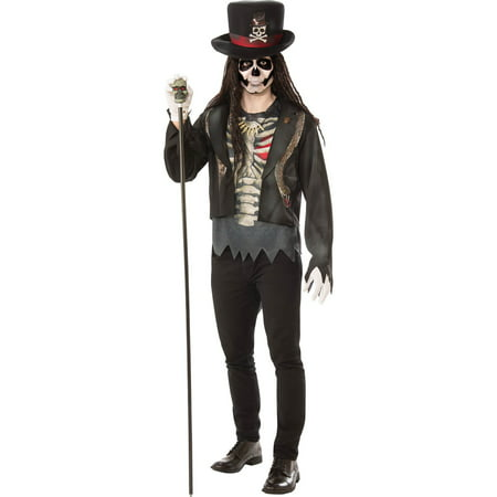 Mens Voodoo Man Halloween Costume](Halloween Horror Nights Voodoo)