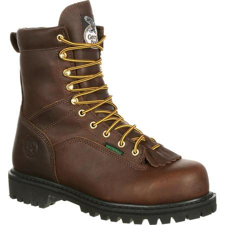Georgia Boot Lace to Toe Steel Toe Waterproof Work Boot