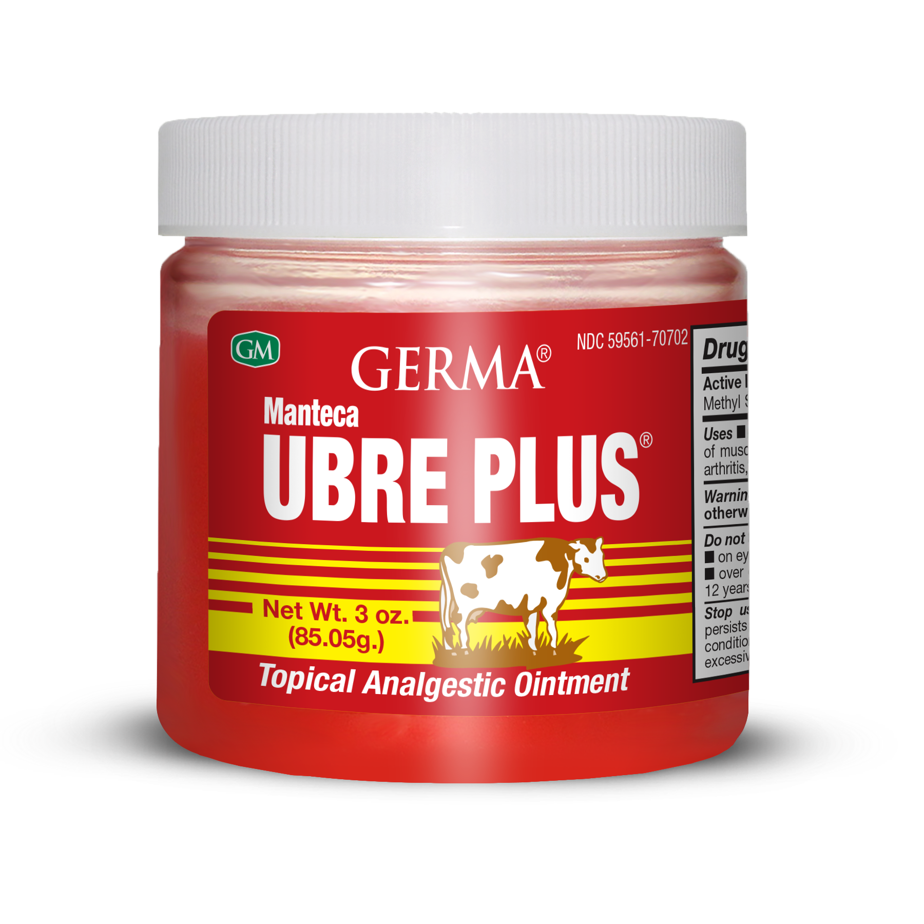 Germa® manteca Ubre Plus - Red - 3oz
