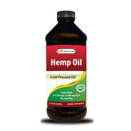 Best Naturals Hemp Oil Cold Pressed 16 Oz