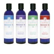 Variety Aromatherapy Massage Oils - 4 Pack