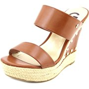 G By Guess Decaf Women  Open Toe Synthetic Brown Wedge Sandal