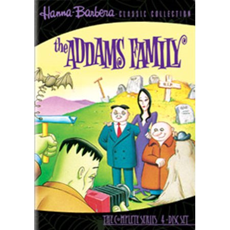 The Addams Family: The Animated Series (1973-1974) (DVD) (Halloween With The New Addams Family)
