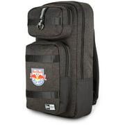 New York Red Bulls New Era Slim Tech Backpack - Heathered Black