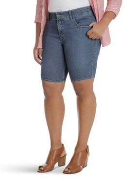 68e9f77ebf Product Image Women's Plus Comfort Waist Bermuda Short