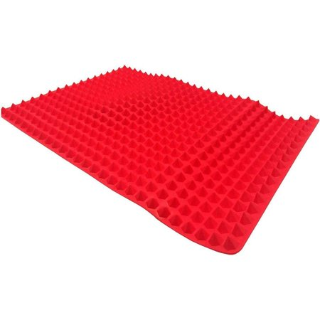 Premium Silicone Dr Recommended Healthy Cooking Baking Mat Non-stick Oven Microwave Meat Pizza - Food Grade Eat & Be -