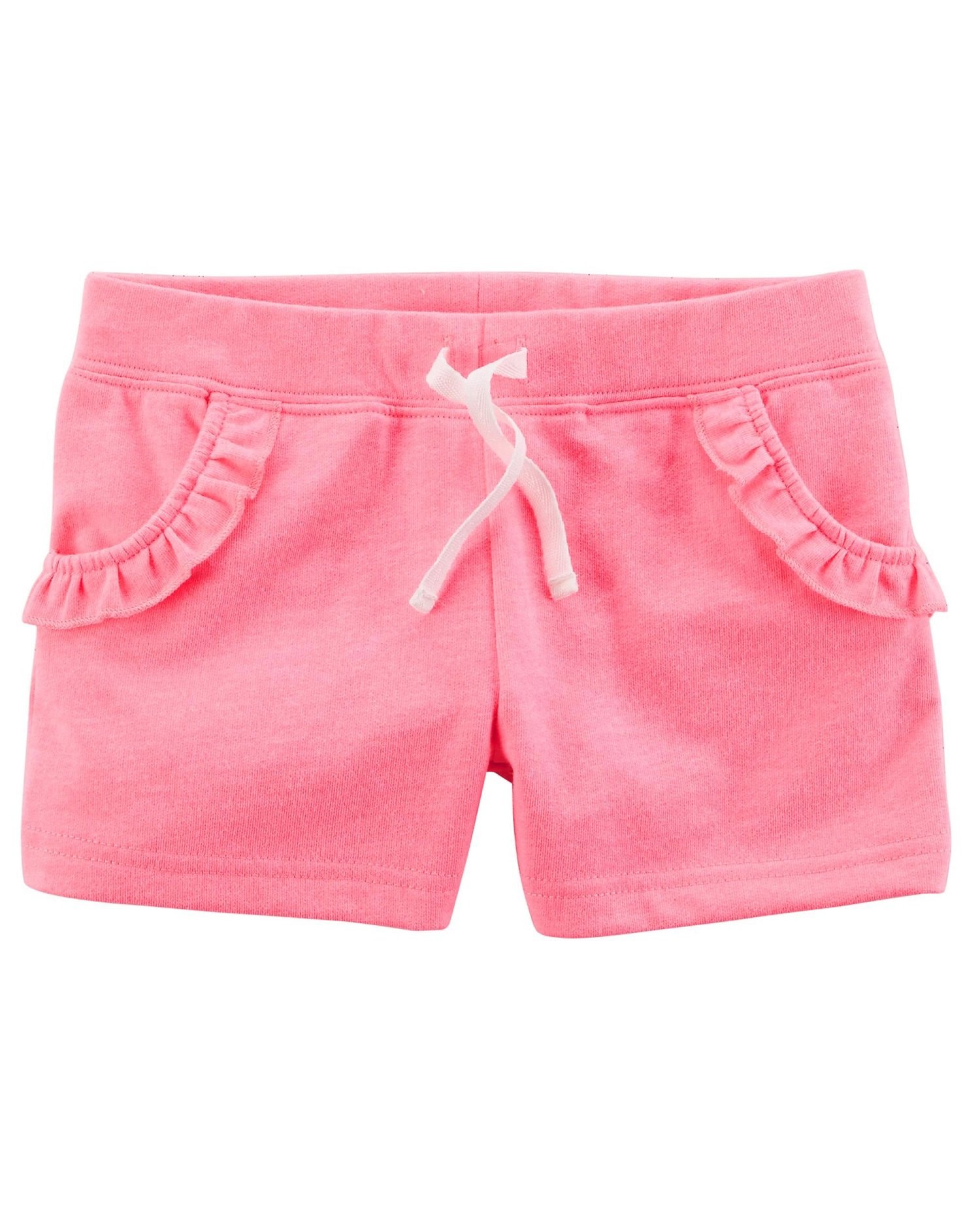 Carter's Baby Girls' French Terry Short, Pink, 6 Months