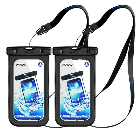 Mpow Waterproof Case  Ipx 8 Rated Cellphone Dry Bag  Compatible With Iphone 7  7 Plus Home Button For Iphone  Google Pixel  Htc  Lg  Huawei  Sony  Nokia  2 Pack