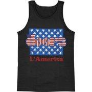 Doors Men's  L America Mens Tank Black