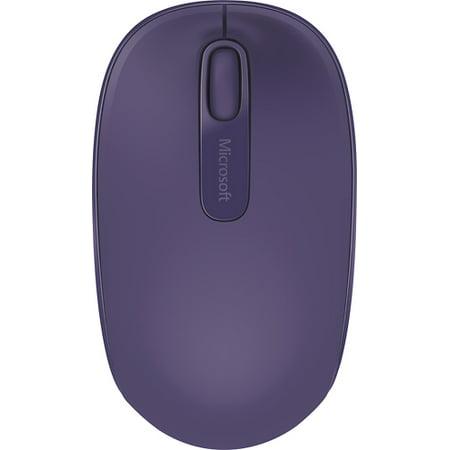 Microsoft 1850 Wireless Mobile Mouse - Purple (U7Z - 00041)