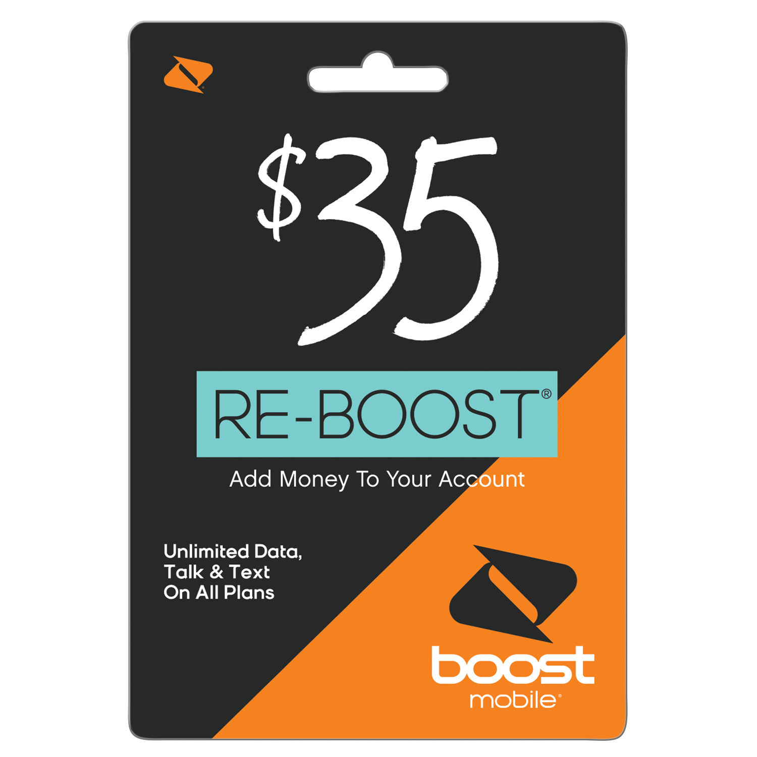 Boost Mobile $35 Re-Boost Card (Email Delivery)