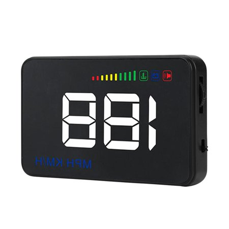 Ejoyous A500 Head Up Display,Car HUD Display,3.5inch A500 Universal Car HUD Head Up Display RPM Overspeed Warning OBD2 Windshield Projector - image 8 of 13