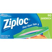 Johnson S C Inc 90ct Ziploc Sandwch Bag 71147