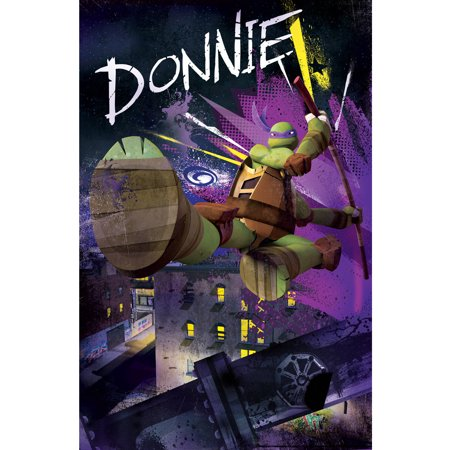 Teenage Mutant Ninja Turtles Donatello 3D Framed Wall Art - Walmart.com
