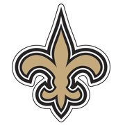 NFL New Orleans Saints Window Film